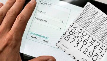 Vi benytter digital underskrift med NemID